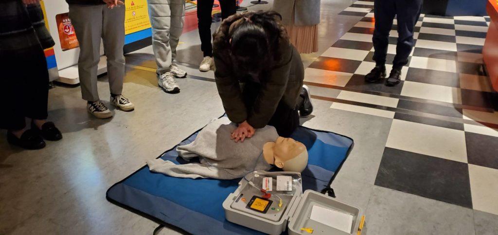 レゴランド®大阪にてクルー対象の救急救命講習