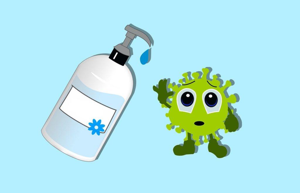 新型コロナウイルスと手洗い
